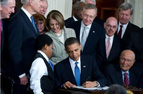 On March 22, 2010, President Obama signed the Patient Protection and Affordable Care Act into law.